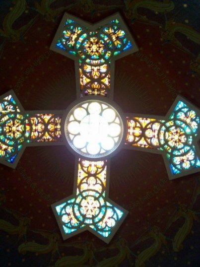 cross ceiling